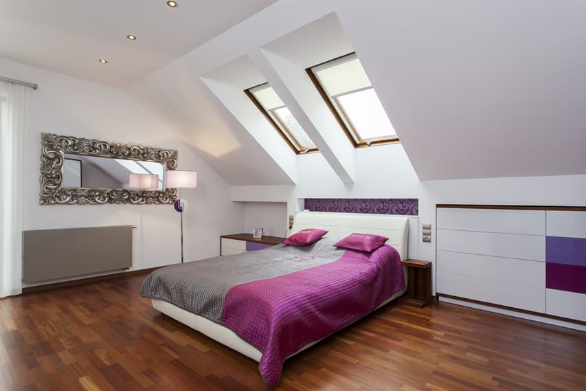 modern attic bedroom ideas - 93 Modern Master Bedroom Design Ideas