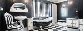 black-white-modern-bathroom-checker-style