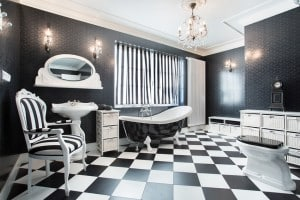 15 Black and White Bathroom Ideas (Design Pictures)