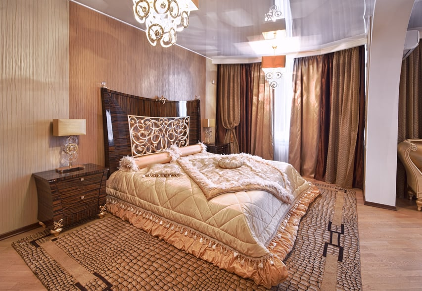 Designer luxury bedroom elegant theme