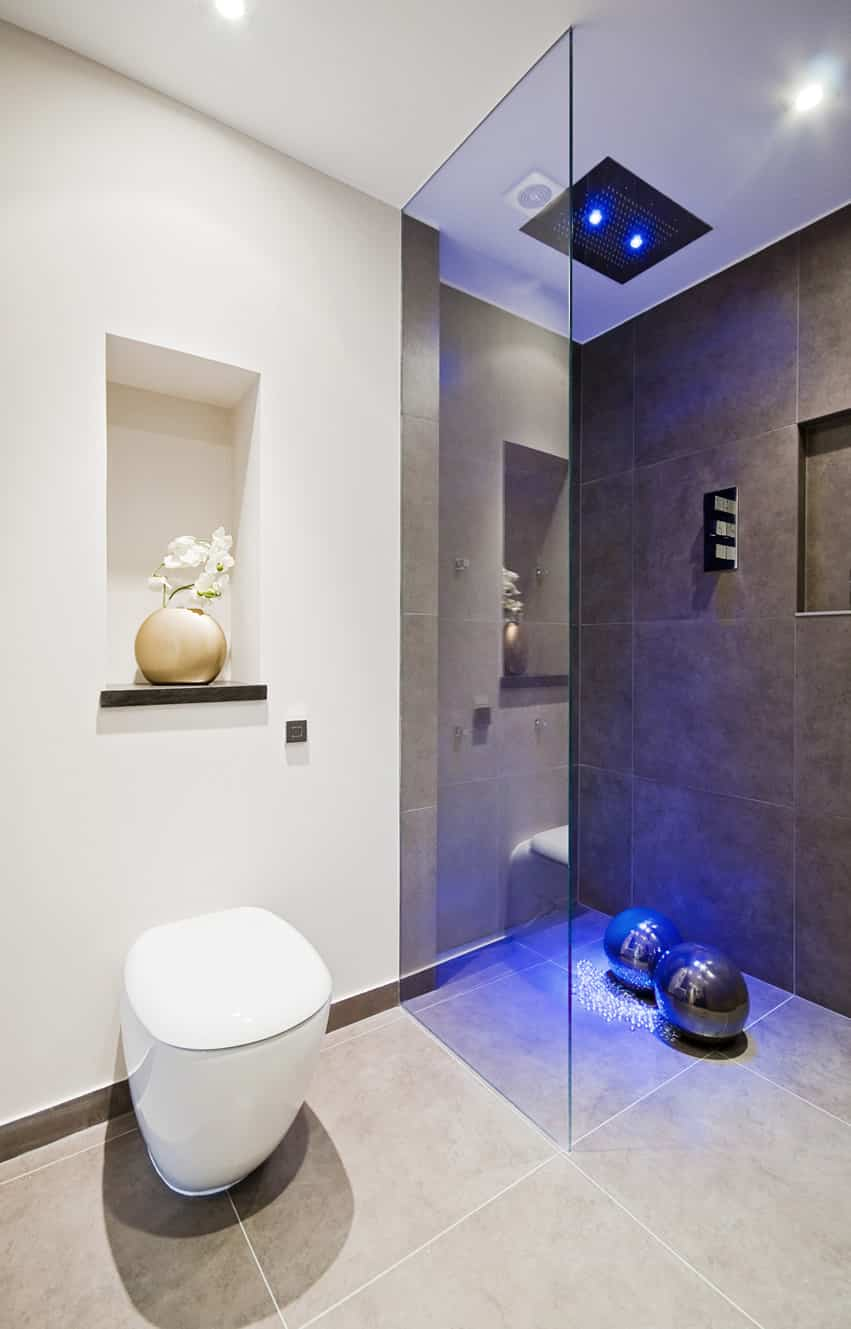 Modern Luxury Bath Rainfall Shower