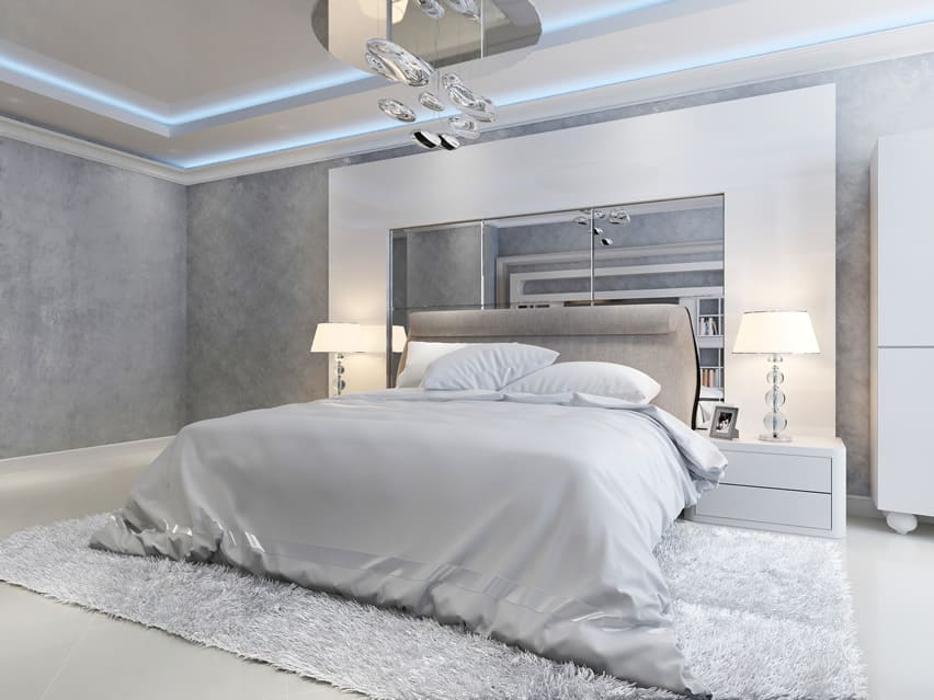 40 luxury master bedroom designs designing idea for Grey and white bedroom designs