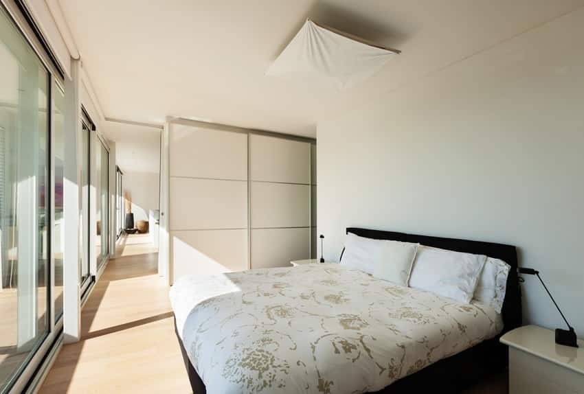Stylish bedroom modern house interior