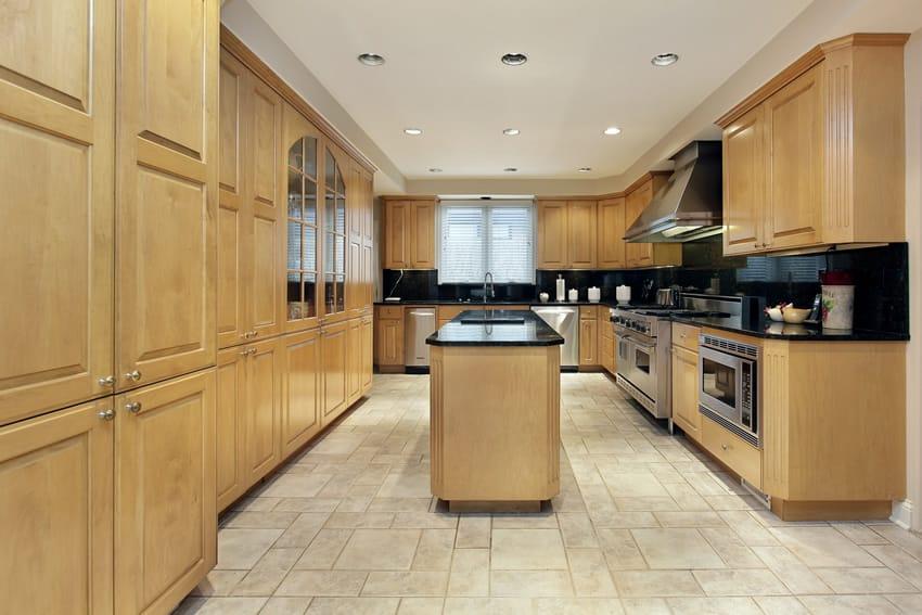 wood kitchen cabinets best way to clean cherry wood kitchen cabinets