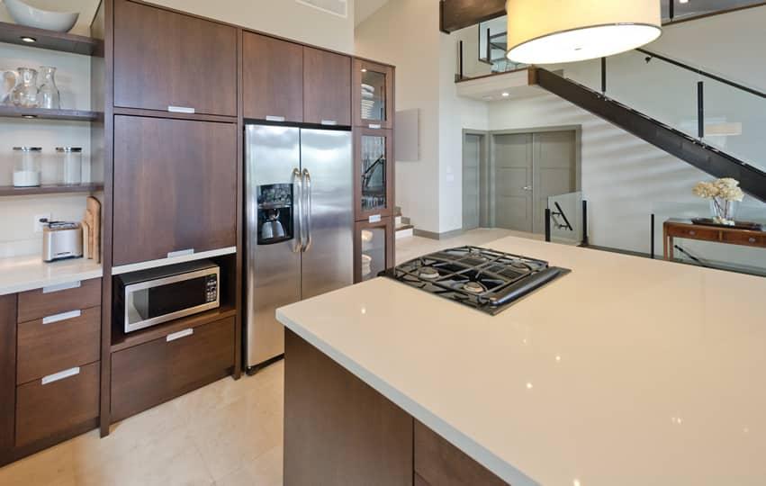 Kitchen in modern design home