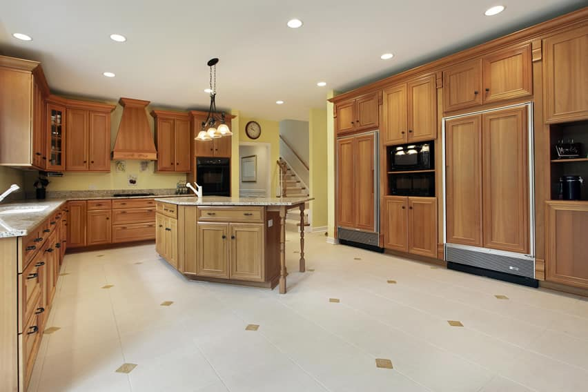 Large kitchen in expensive home