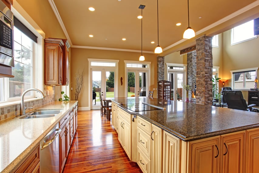 Luxury kitchen design ideas custom cabinets part 3 for Luxury kitchen design