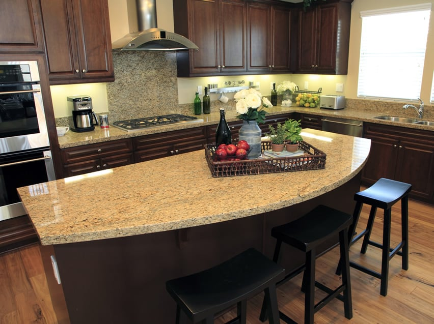 Small kitchen islands with granite tops roselawnlutheran for Small kitchen granite countertops
