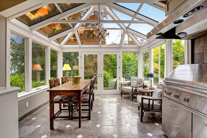 ... Sunroom Dining Room Cape Cod Ma Ri Home Decor ...