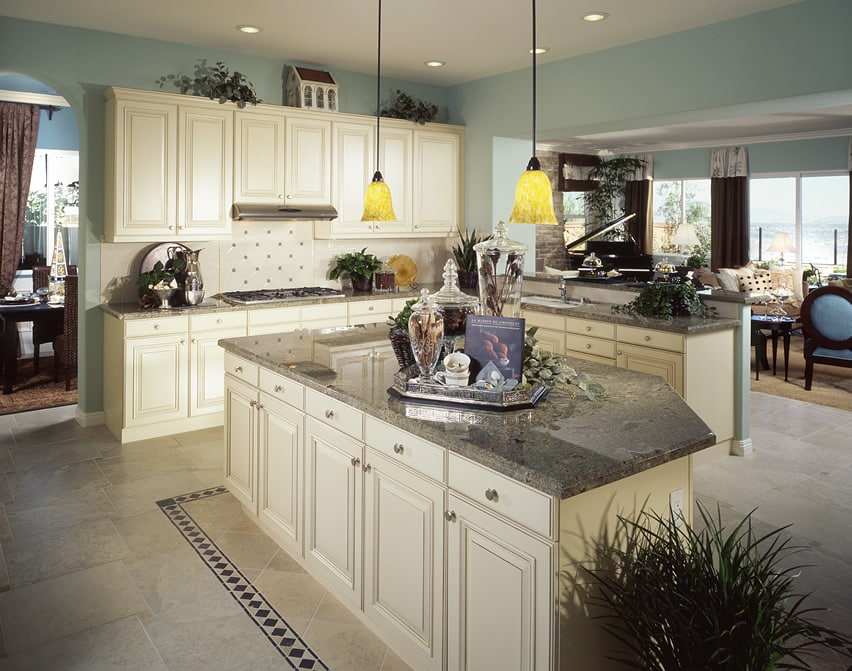 Beautiful upscale l shaped kitchen