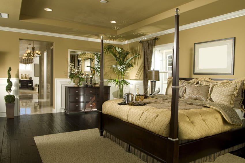 50 luxury designer bedrooms pictures designing idea for Bedroom ideas dark wood floor