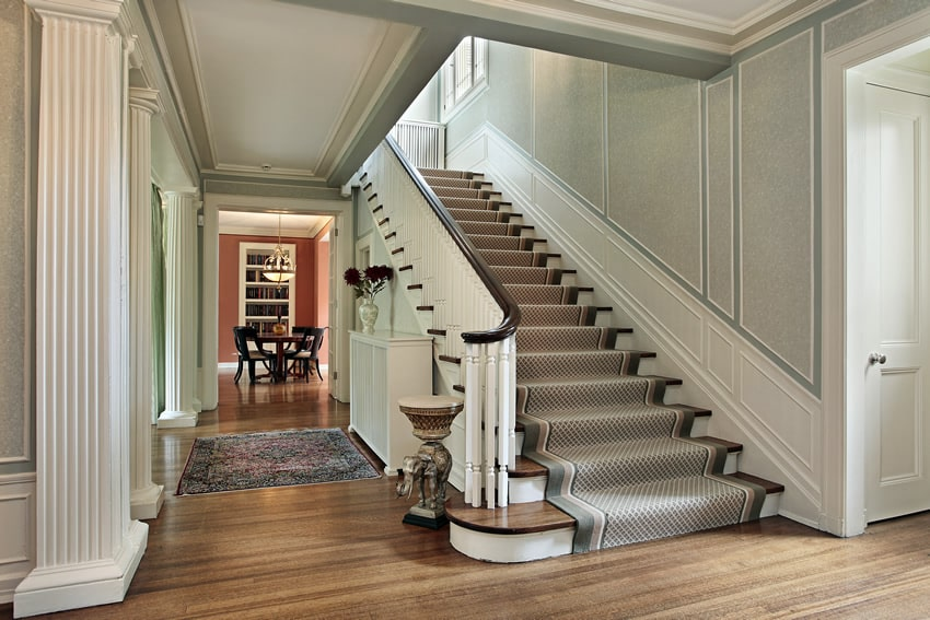 Small Foyer With Stairs : Gorgeous foyer designs decorating ideas designing idea
