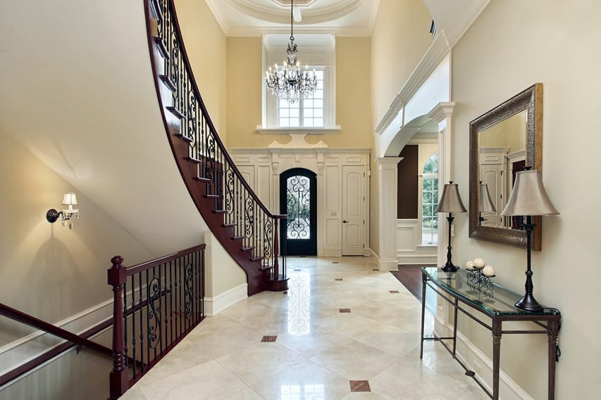 Image gallery elegant foyer for Elegant foyer ideas