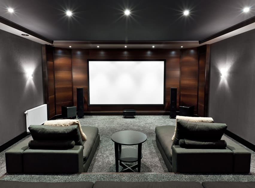 21 incredible home theater design ideas decor pictures Home movie theater