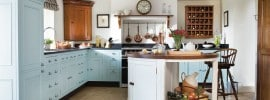 baby-blue-cabinet-country-style-kitchen