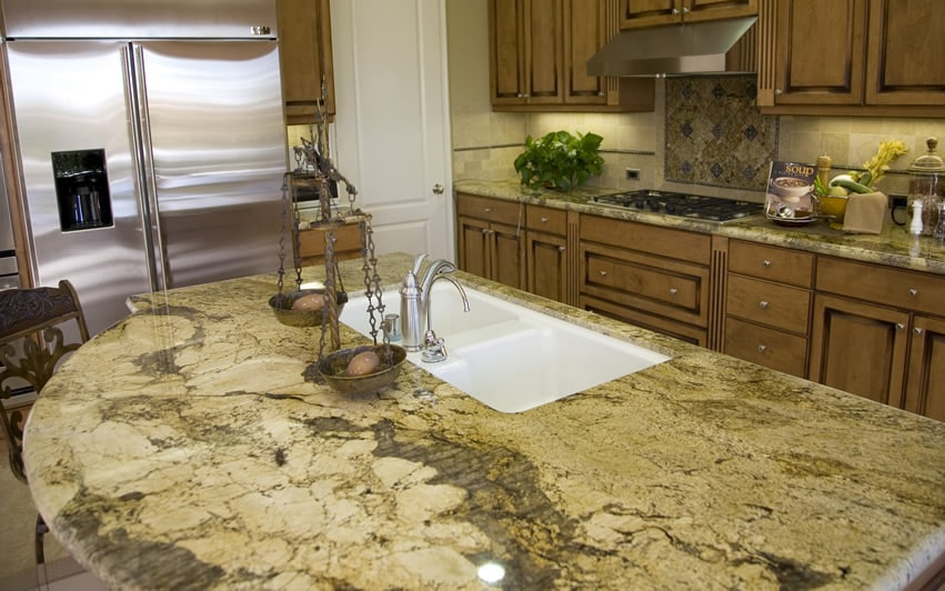 Granite Colors For Kitchen Countertops As Per Vastu : Types of Granite Countertops for Kitchens
