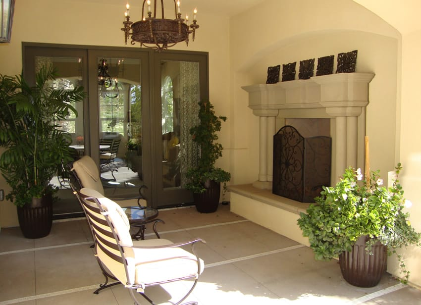 Decorative Outdoor Fireplaces : Outdoor fireplace ideas with pictures designing idea