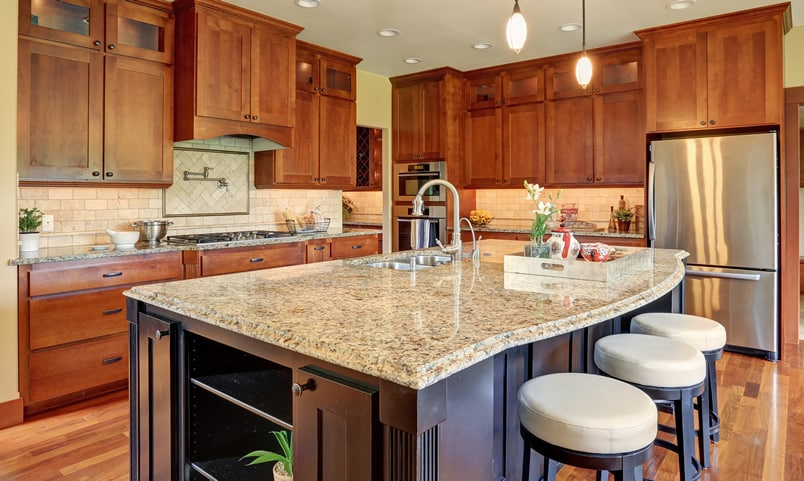 Types of kitchen countertops image gallery designing idea Different types of kitchen designs