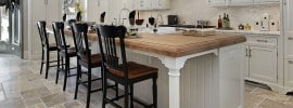 Kitchen in luxury home