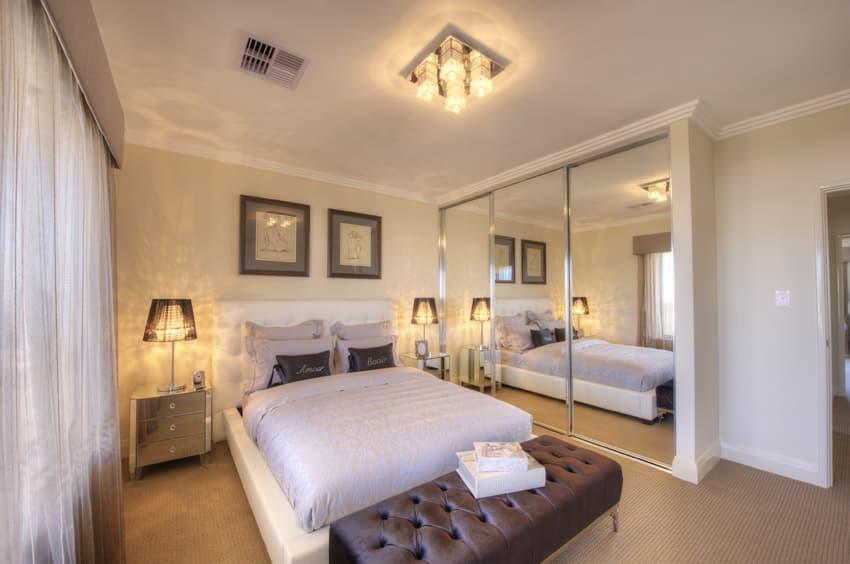 Bright master bedroom design