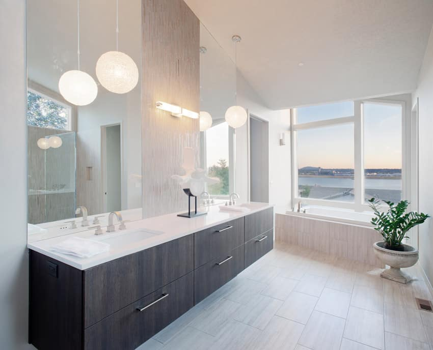 Luxury bathroom design ideas part 2 designing idea for Modern clean bathroom design ideas