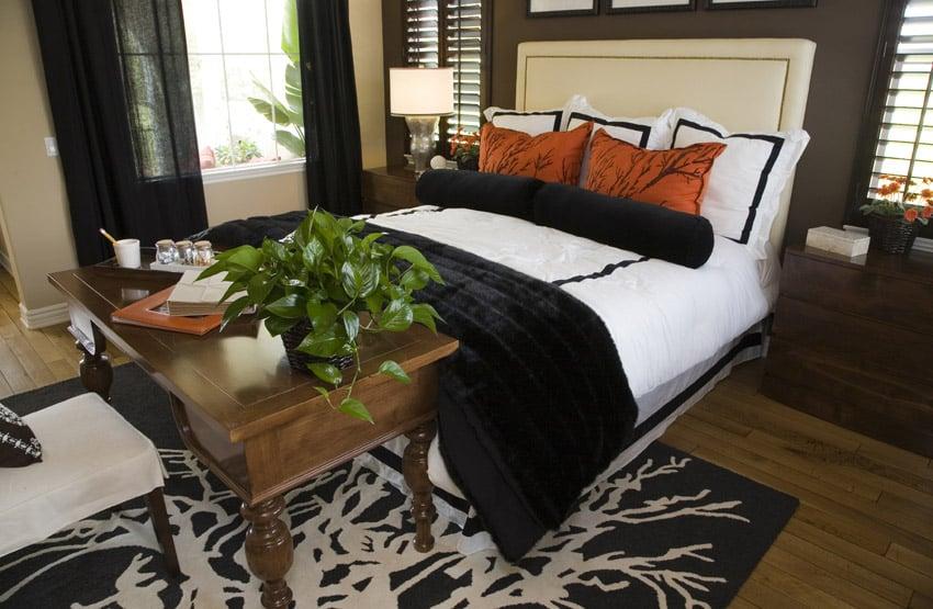 Custom designed master bedroom