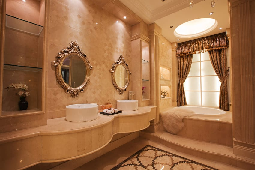 Elegant bathrooms crowdbuild for for Bathroom ideas elegant