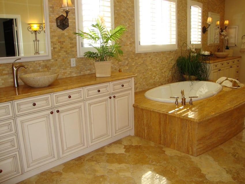 Luxury bathroom design ideas part 2 designing idea for Luxury bathroom tile designs