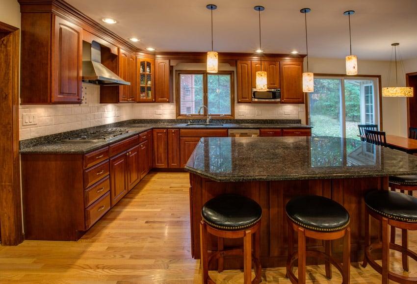 49 dream kitchen designs pictures designing idea for Armoire de cuisine style champetre