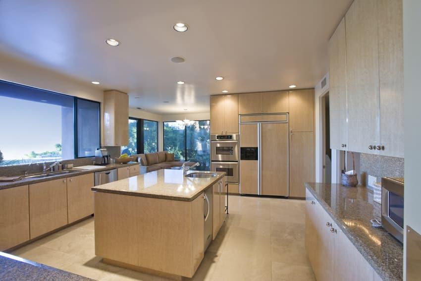 49 dream kitchen designs pictures designing idea for Large kitchen window