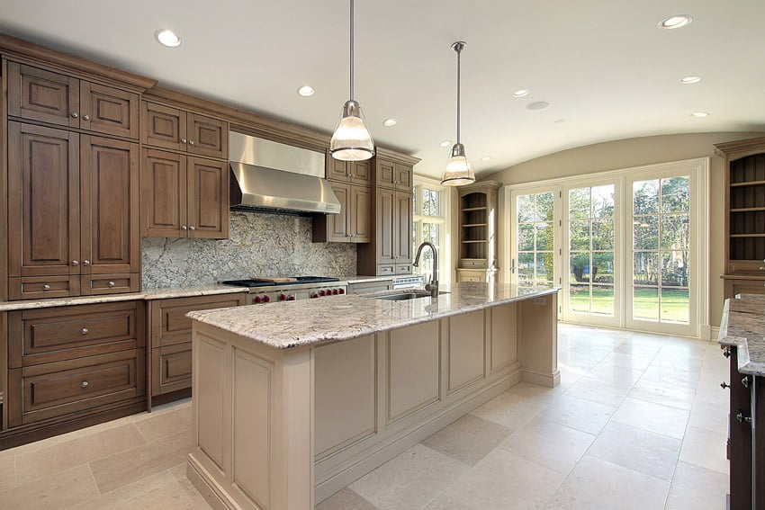 Pretty luxury kitchen in expensive home