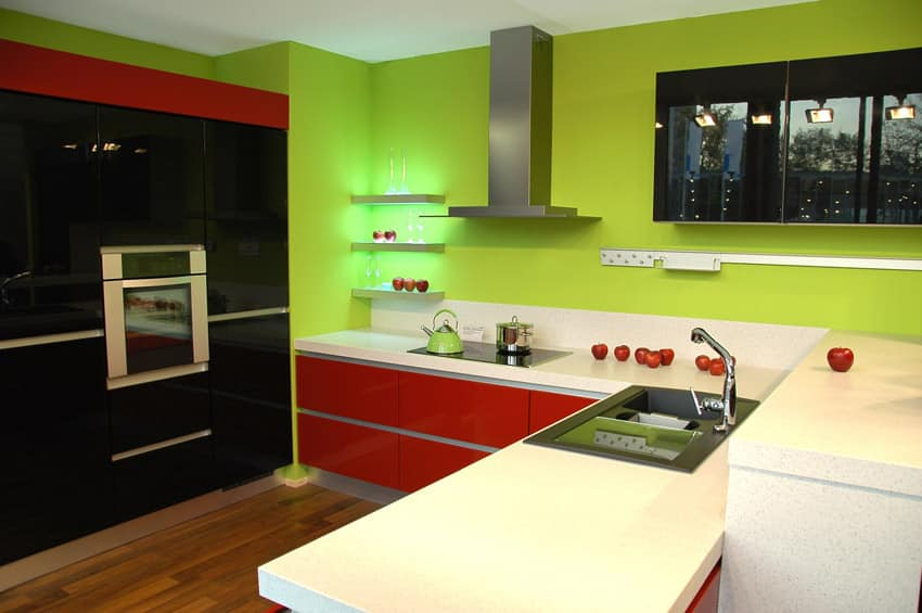 Modern Kitchen Green 28+ [ green and white kitchen ideas ] | pictures of kitchens