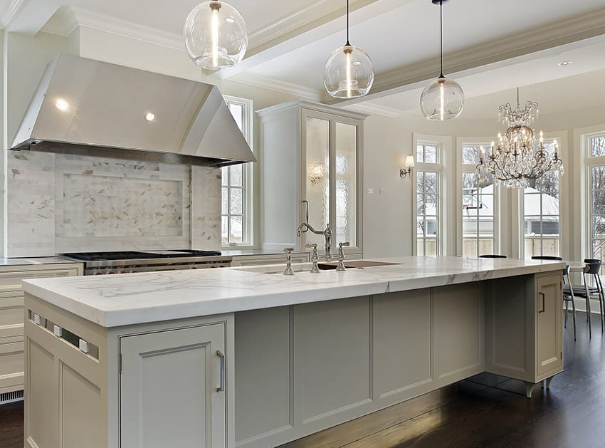 Marble Kitchen Countertops Pros And Cons Designing Idea