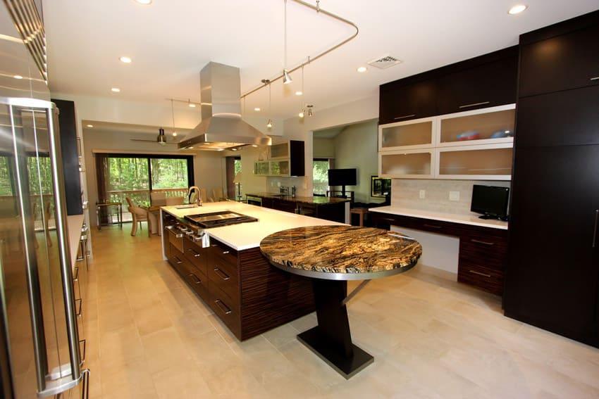 33 modern kitchen islands design ideas designing idea - Expensive kitchens designs ...