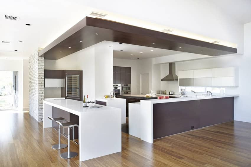 33 modern kitchen islands design ideas designing idea for Entertaining kitchen designs