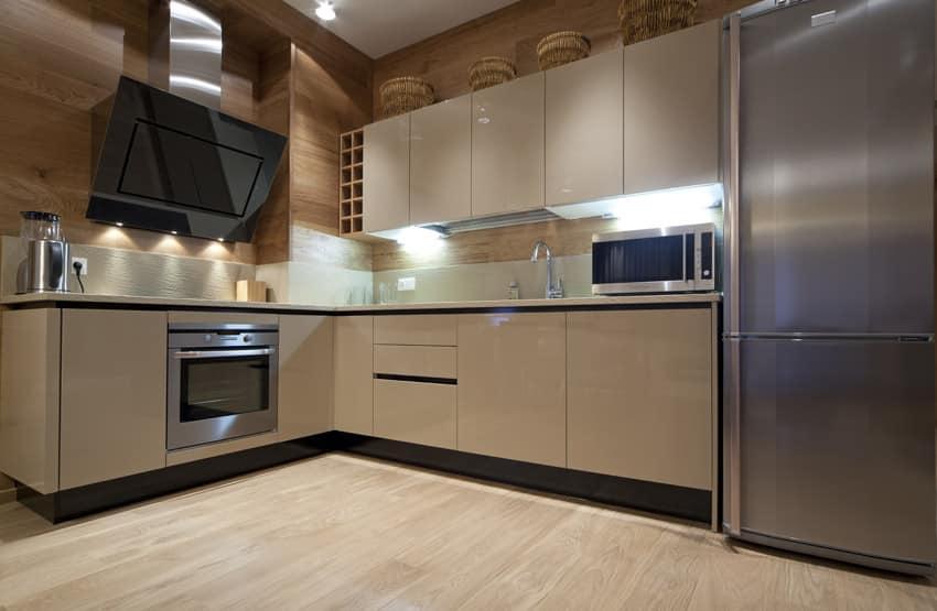 Light color modern kitchen