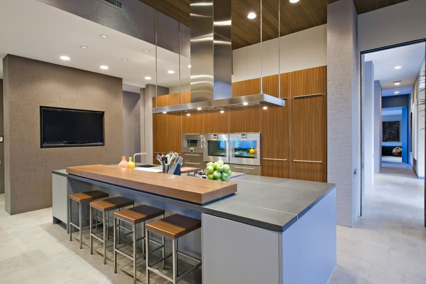 modern kitchen islands design ideas  designing idea, Kitchen