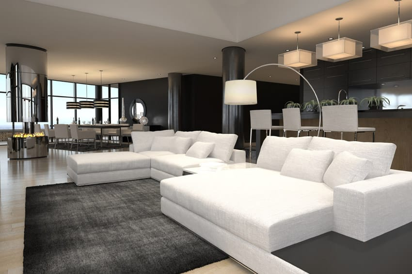 60 stunning modern living room ideas photos designing idea for Family room v living room