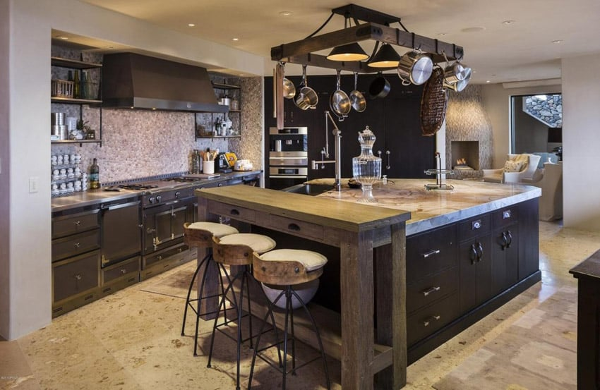 50 gorgeous kitchen designs with islands designing idea for Custom kitchen islands