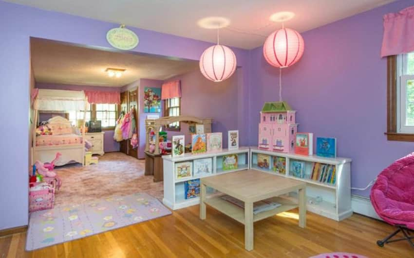36 cute bedroom ideas for girls pictures of furniture decor designing idea - Purple and pink girls bedroom ...