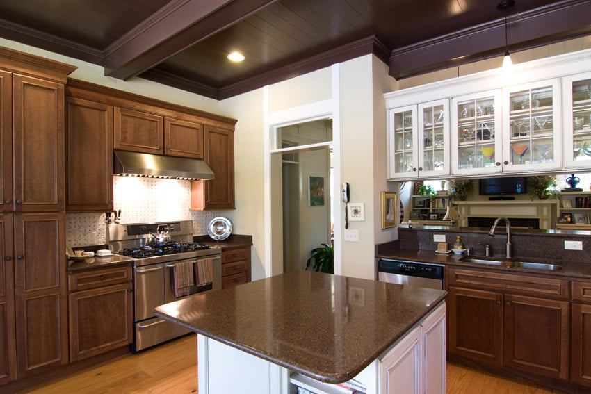 cabinet and hardware kitchen cabinets within colors with brown best free home design idea. Black Bedroom Furniture Sets. Home Design Ideas