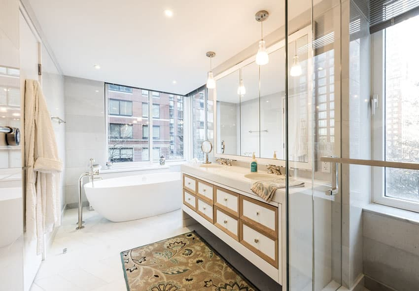 Innovative Granite, The Picture Below Was Taken With My Cell Phone But Still, Natural Light And The Time A Day  When You Have A Small Bathroom, Your Options For Hanging