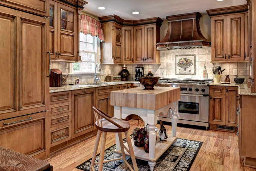 what is a classic kitchen backsplash