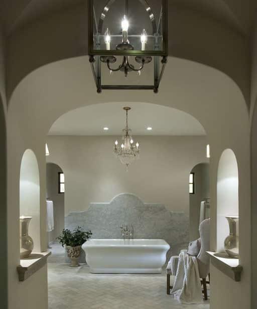 Romantic Bathroom Lighting Ideas