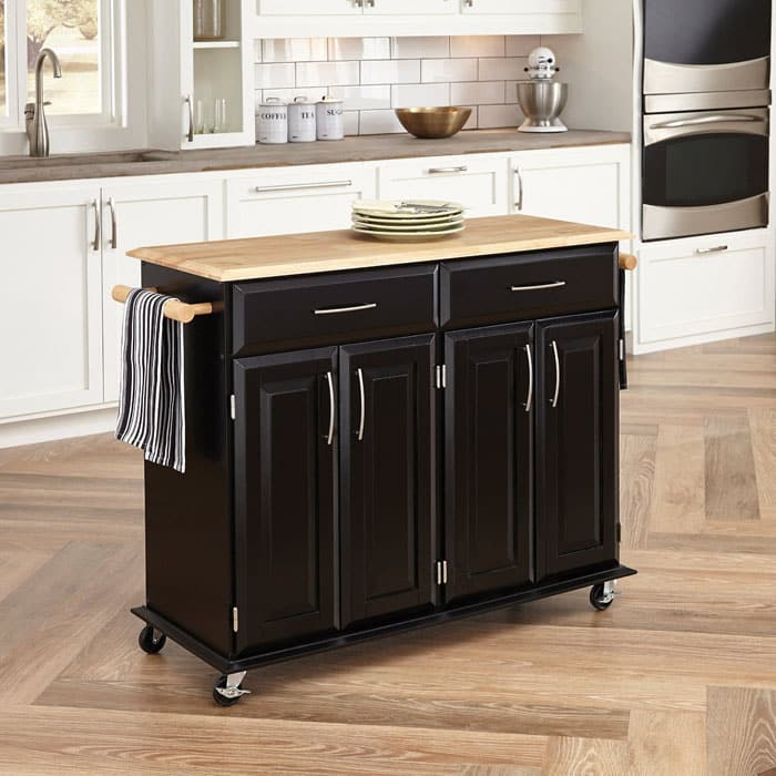 25 Portable Kitchen Islands Rolling Movable Designs Designing Idea