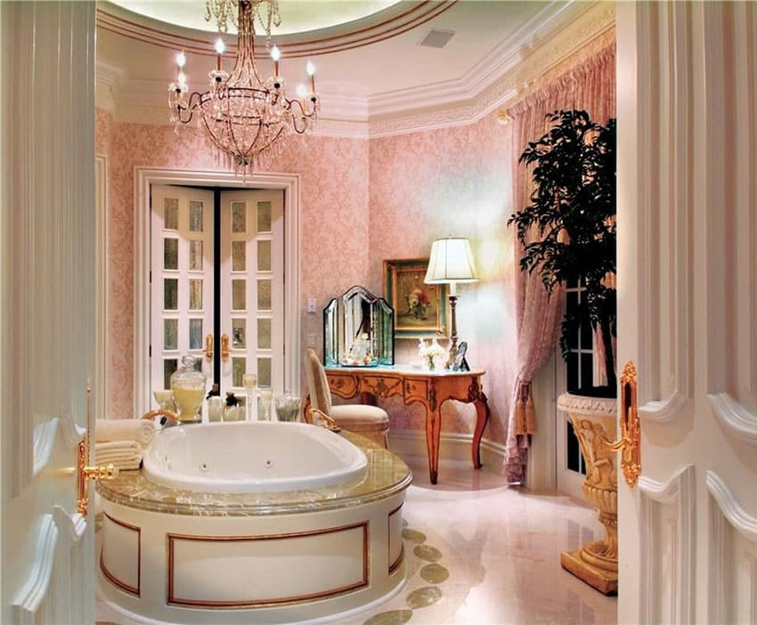 Fancy master bathrooms