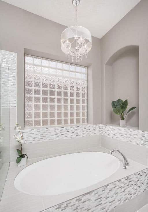 27 Gorgeous Bathroom Chandelier Ideas Designing Idea