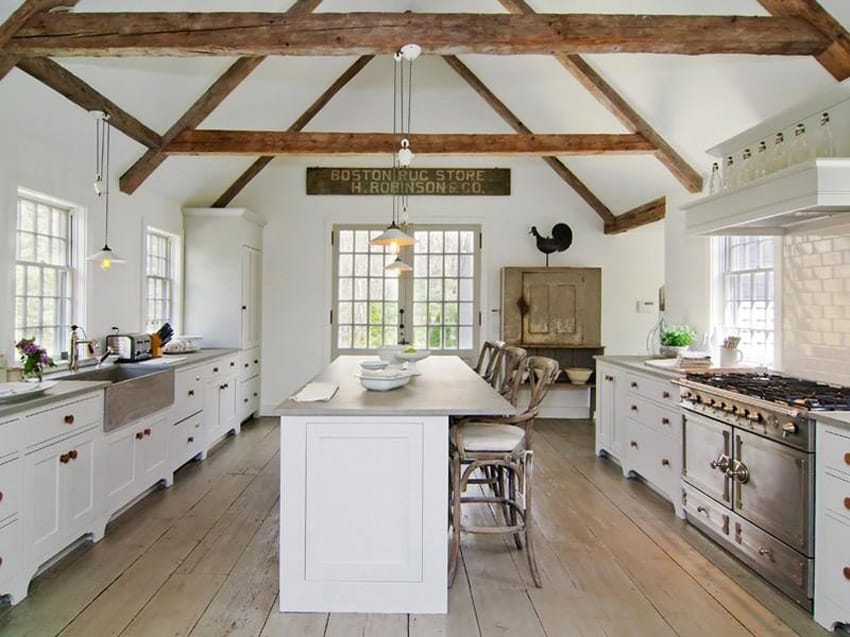 Antique White Country Kitchen Antique White Country