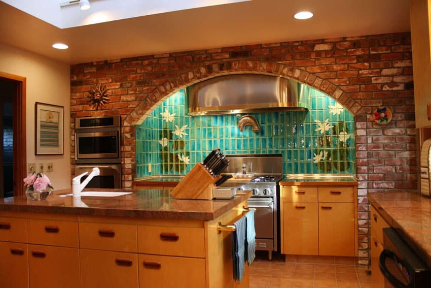 47 brick kitchen design ideas tile backsplash amp accent light grey kitchen backsplash home design ideas