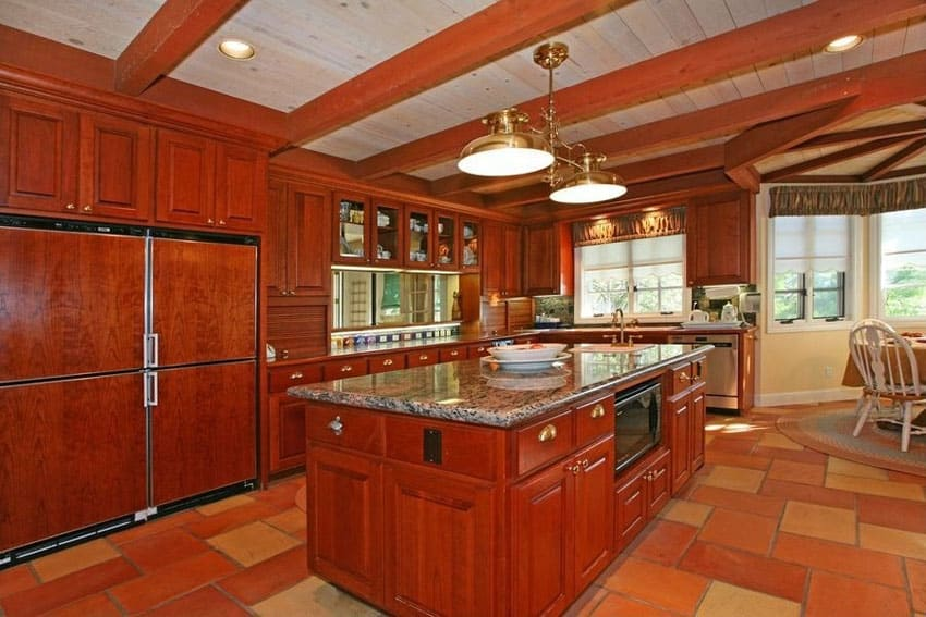 Cherry Wood Kitchens Cabinet Designs Amp Ideas Designing Idea
